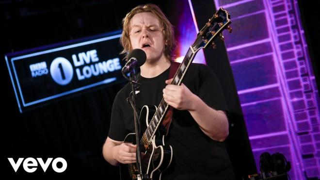 Lewis Capaldi - Live Lounge   Busk Music